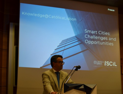 Smart City Conference as part of Knowledge@CatólicaLisbon, 4th edition