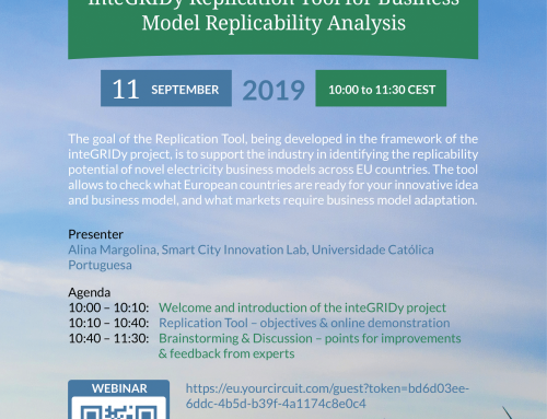 Upcoming Webinar: Replication Tool for Business Model Replicability Analysis