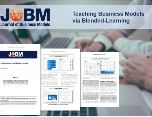 Teaching Business Models via Blended-Learning