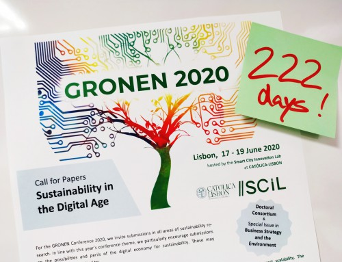 It's on! 222 days to go until GRONEN 2020