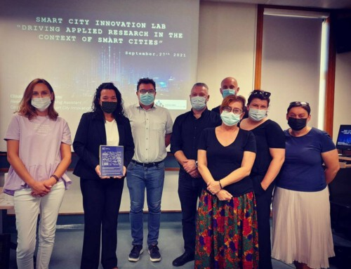 Driving Applied Research in the Context of Smart Cities – Zdunska Wola's City Council Representatives visiting SCIL